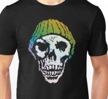 Jet Set Gradient Skull Unisex T-Shirt