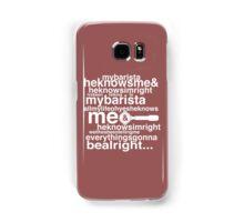 Barista Genesis Samsung Galaxy Case/Skin