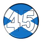 FREE SCOTLAND 45 Button Design by Sookiesooker