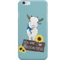 Supportive Goat iPhone Case/Skin