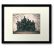 107th United States Infantry Framed Print