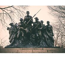 107th United States Infantry Photographic Print