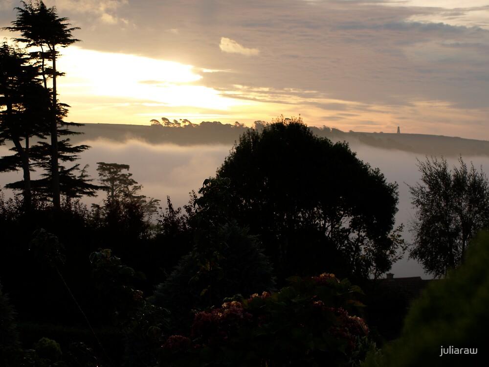 Dawn in Dartmouth by juliaraw