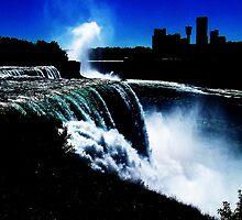 Falls At Niagra by BrittanySinex