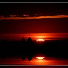 dark sunrise by Cheryl Dunning