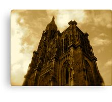 Strasbourg Cathedral - From Below Canvas Print