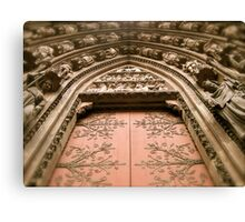 Strasbourg Cathedral - Door Canvas Print