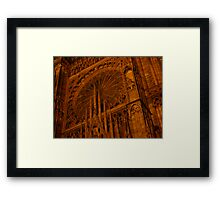 Strasbourg Cathedral - Grand Window Framed Print