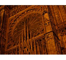 Strasbourg Cathedral - Grand Window Photographic Print