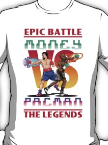 Boxing Legends: Money vs Pacman T-Shirt