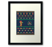 We Wish You A Metroid Christmas! Framed Print