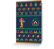 We Wish You A Metroid Christmas! Greeting Card