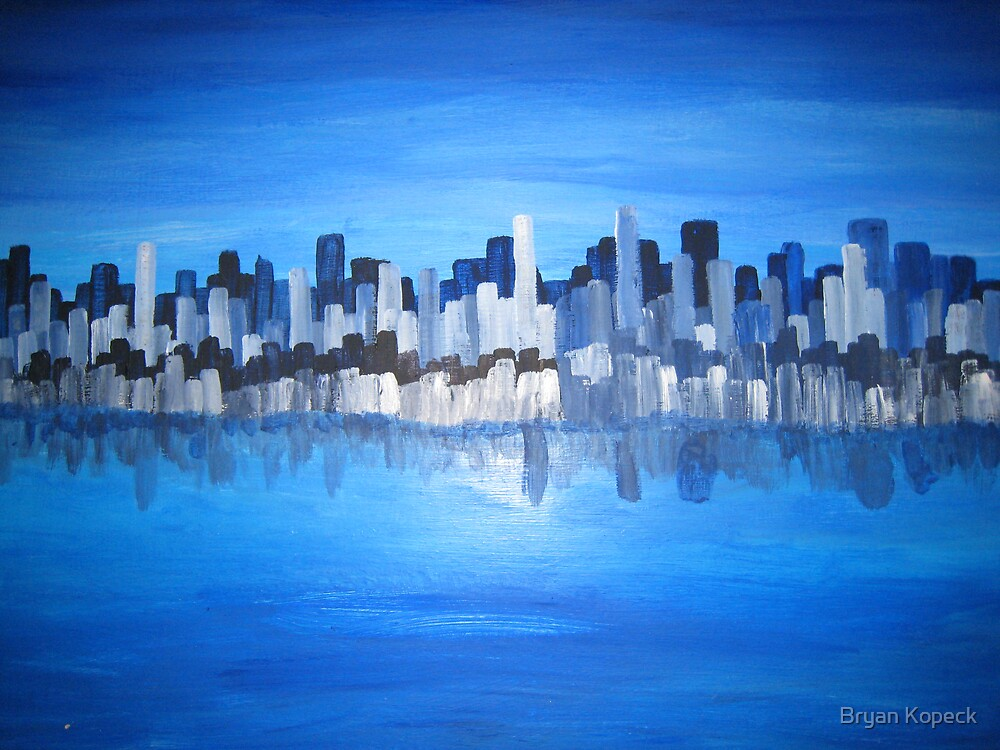 City Scape by Bryan Kopeck