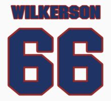 National football player Jimmy Wilkerson jersey 66 by imsport