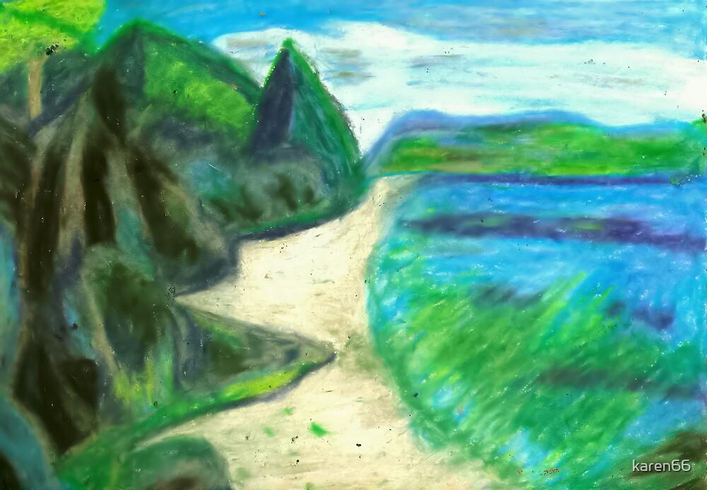 Bora Bora Beach 2 by karen66