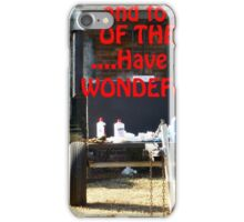 Happy Thanksgiving Day!!! iPhone Case/Skin