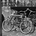 Bikes in black and white by Manuel Gonalves