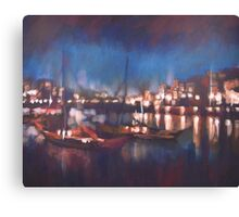 Evening Harbor Canvas Print