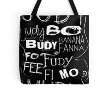 JUDY - The name game Remake White version Tote Bag