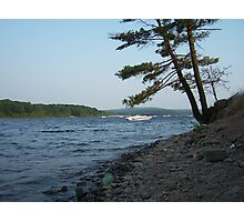 summer boating Photographic Print