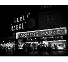 Pike place Photographic Print