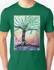 Watercolour Olive Tree Unisex T-Shirt