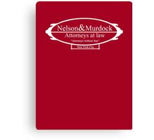 Nelson & Murdock - Attorneys at law Canvas Print