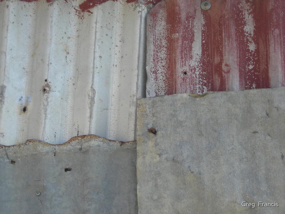Corrugated Iron by Greg  Francis
