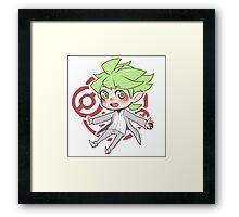 Wally - Pokemon ORAS Framed Print