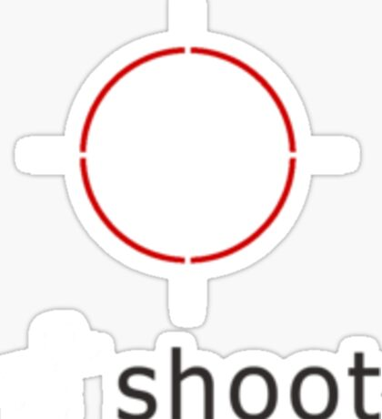 Duck Shoot Sticker