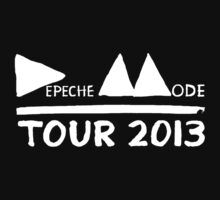 Depeche Mode : Tour 2013 - Depeche Mode - White by Luc Lambert
