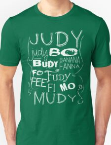 JUDY - The name game Remake White version Unisex T-Shirt
