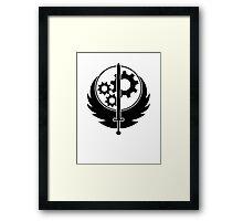 Brotherhood of Steel Logo T-Shirt Framed Print