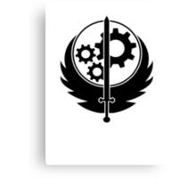 Brotherhood of Steel Logo T-Shirt Canvas Print