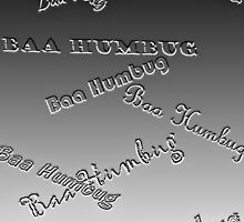 Baa Humbug - Embossed by Tom Gomez