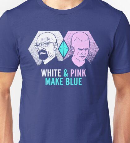 White & Pink Make Blue T-Shirt