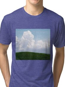 Corn and Clouds Tri-blend T-Shirt