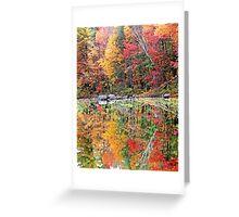Autumn Stillness ! Greeting Card
