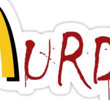McMurder Sticker