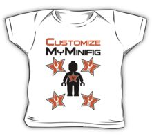 Minifig with Customize My Minifig Star Logos Baby Tee
