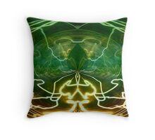 Electric Storm Throw Pillow