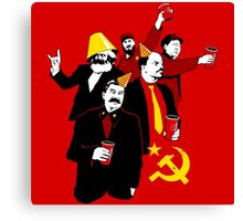 The Communist Party (variant) Canvas Print