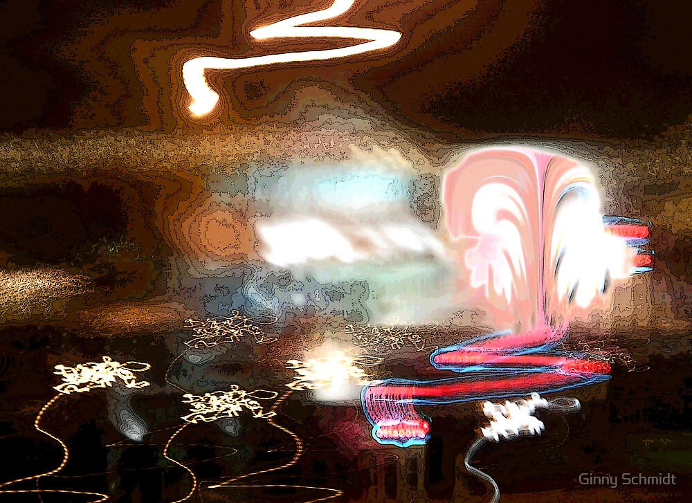Fantasy Lights by Ginny Schmidt