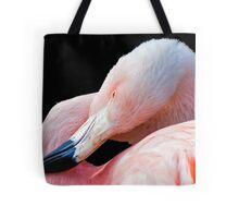 Flamingo twist Tote Bag