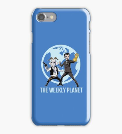 The Weekly Planet iPhone Case/Skin