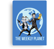 The Weekly Planet Canvas Print