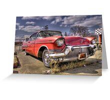 Classic Cadillac  Greeting Card
