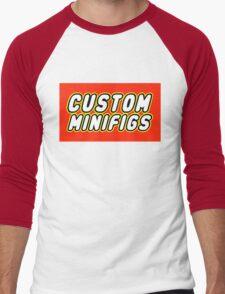 CUSTOM MINIFIGS Men's Baseball ¾ T-Shirt