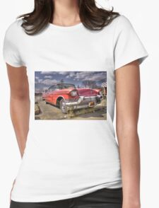 Classic Cadillac  Womens Fitted T-Shirt