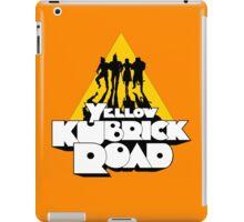 Yellow Kubrick Road iPad Case/Skin